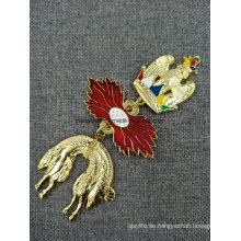 Kundenspezifische 3D Die Guß Emaille Hals Band String Lanyard Medaille