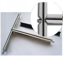 Profil en acier en métal de plafond suspendu par rainure noire (32 * 24)