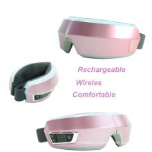 Massager de dobramento recarregável sem fio do corpo da massagem do olho do aquecimento