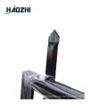 valla decorativa valla de aluminio horizontal
