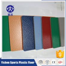 Feuille de plancher de cour de badminton de PVC de première classe de sport