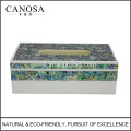 Good Quality Paua Shell Rectangle Tissue Boxes