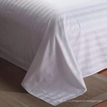 Супер люкс 300tc 100% Хлопковая простыня в белых цветах