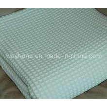 100 % coton doux gaufre couverture