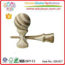 Hot Sale 17cm Standard Colorful Wooden Kendama Toy for wholesale