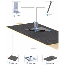 Impermeabiliza el techo solar que destella el sistema de techumbre de montaje del techo