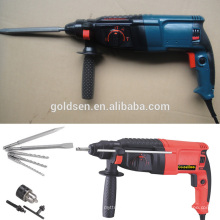 26mm 800w Power Hammer Meißel Bohrmaschine Tragbare elektrische Rotary Hammer Bohrmaschine