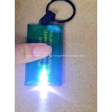 Werbeartikel PVC Schlüsselanhänger mit LED