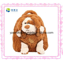 Brown Dog Cheap Plush Backpack (XDT-0034Q)