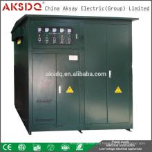 SBW SBW-F 3-фазный внутренний трансформатор Полный автоматический стабилизатор высокой мощности для промышленного или заводского стабилизатора напряжения 380 В