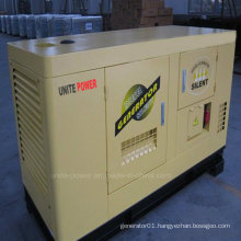 Unite Power 22kw Soundproof Isuzu Engine Diesel Generating Set