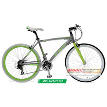 Bicicleta híbrida de la bici de la velocidad de la aleación 14