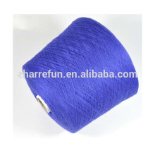 Fio de caxemira de 100% de lã 26NM / 2 para confecção de malha de máquina