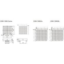 1,5 pulgadas, 3,7 mm DOT (GNM-15882Ax-Bx)