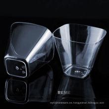 Taza de plástico Copa Desechable Copa Transparente 3.5 Oz