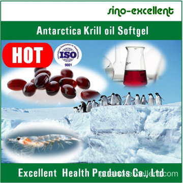 Cápsula de Softgel/Soft de óleo do Krill Antártico