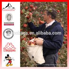 Sac de fruits de cueillette personnalisé de vente chaude (ESX-LB275)