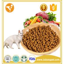 Alto contenido de proteínas y calcio sabor nutritivo de los pescados comida seca para gatos