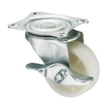 Light Duty Caster Serie - Plattengabel W / Side Brake - PP