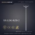 Iluminação de rua de aço cónica do braço dobro de 3-12m