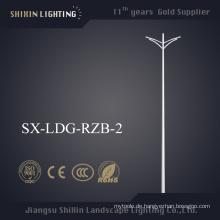 Großhandelspreis Doppelarm 6m Lichtmast