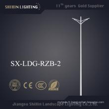Prix de gros Double Bras 6m Light Pole