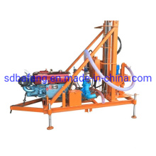 100m Portable Diesel Hydraulic Water Well Rotary Drilling Rig Instead of Xy-1 for Rock