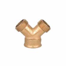 Brass metal Water hose Y spliter