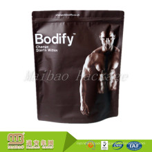Custom Logo Print Factory Price Stand Up Bags For Packaging Protein Powder Products