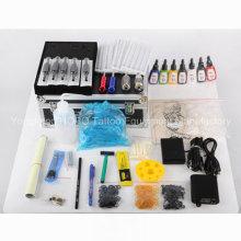Productos baratos suministra kits de tatuaje con máquina y tinta