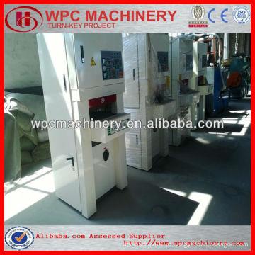 Wpc perfil / placa / máquina de porta máquina de escovar wpc