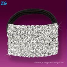 Banda de cristal cheio de cristal elegante, banda de cabelo de cristal para meninas, hairbands de casamento de strass