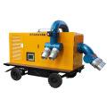 Gedämpfte Diesel-Abwasser-Wasserpumpe mit Anhänger