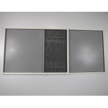 Telescopic flyscreen sliding window with aluminum profile