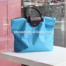 China Best!!Factory Direct! 600D polyester Fabric and reusable shopping bag, shopping handbag
