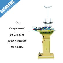 2017 QY-282 mejor precio computarizado punta de punta de la máquina de coser de China