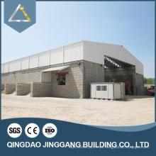 Edifício de armazém pré-fabricado Estruturas de construção de telhado de aço leve