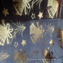 Decorative Glass Yarn for Christmas Fabric