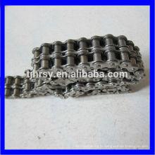 Chaîne à rouleaux duplex en acier inoxydable (série A et B)