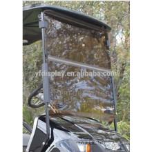 Getönte Split-Acryl-Golfwagen-Windschutzscheibe für TXT für Golf-Auto