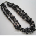 2015 Most Popular 3 Row Fashion Necklace, Charm Jewelry