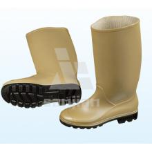 Jy-6246 Günstige Kunststoff Gummi Regen Stiefel