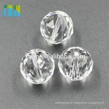 Bola de faceta pingente lustre cristal 30 milímetros