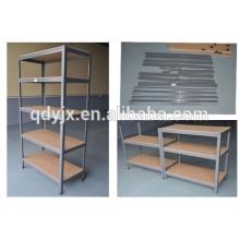 Unidad de estantería independiente de acero de 5 niveles