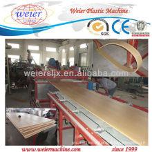 SJSZ-80/156 wpc placa de produção de placa / placa de plástico decorativo