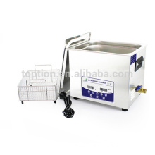 Digital control ultrasonic printhead cleaner with dual frequency and touch key