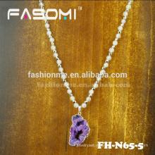 Heißer Verkauf FASOMI natürlichen roten Stein Halskette
