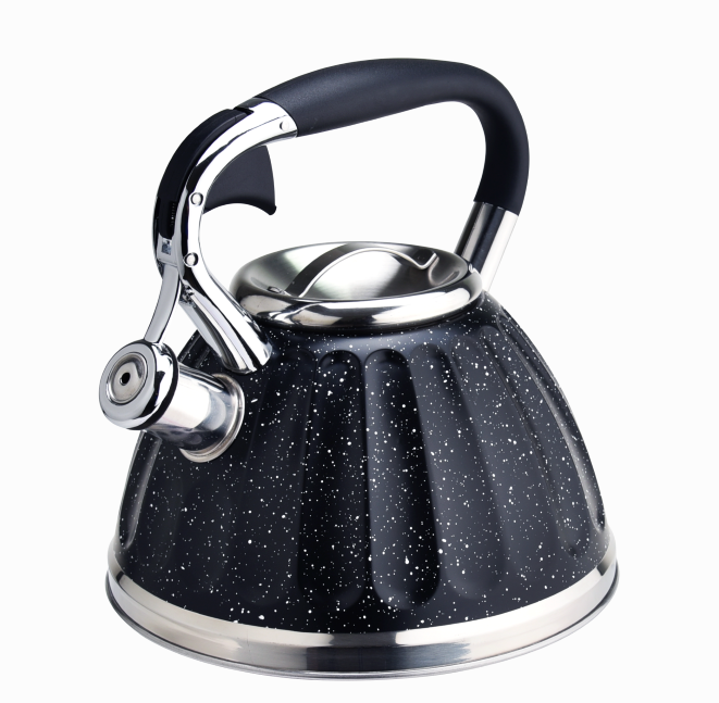 Induction Tea Pots Marble Black 399