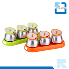 High Quality Seasoning Bottle Spice Shakers Salt and Pepper Set