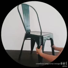 High Quality Wholesale Price Metal Stable  Restaurant Dining Chair